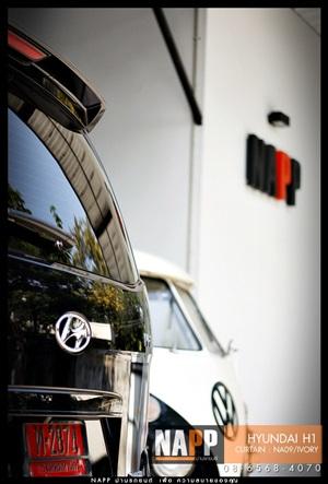 ม่านรถยนต์ฮุนได starex