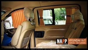 Hyundai Car Curtain by NAPP  ผ้าม่านรถ