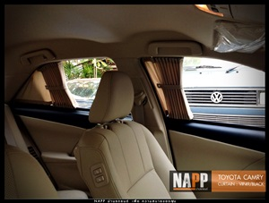 NAPP ม่านรถยนต์ พรีเมี่ยม คัมรี่