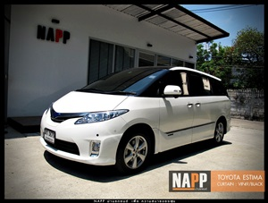 NAPP ม่านรถยนต์ พรีเมี่ยม estima
