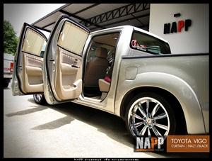 NAPP ม่านรถยนต์ พรีเมี่ยม โตโยต้า วีโก้